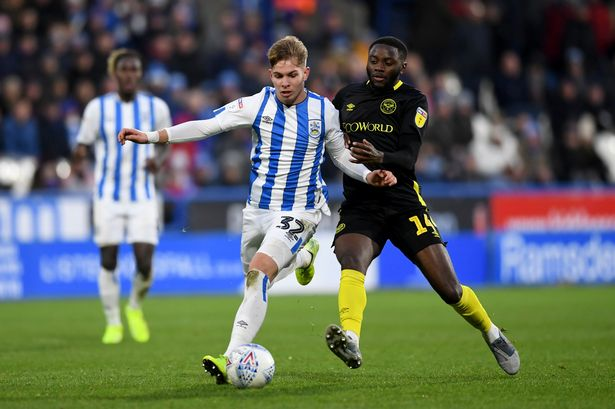 4 37 Dribbles Per Game A Closer Look At Emile Smith Rowe Since He Switched Arsenal For Huddersfield Town Football League World